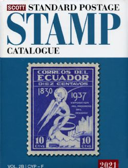 WORLD STAMPS -  SCOTT 2021 STANDARD POSTAGE STAMP CATALOGUE (C-F) 02