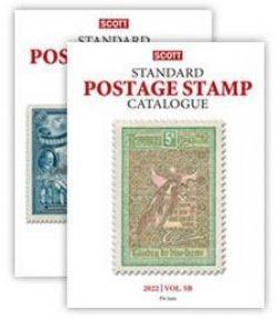 WORLD STAMPS -  SCOTT 2022 STANDARD POSTAGE STAMP CATALOGUE (J-M) 05
