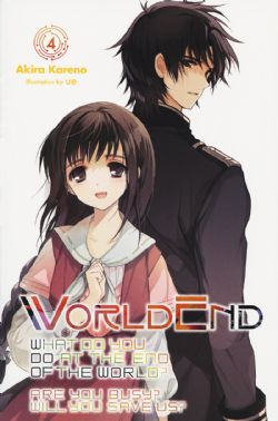 WORLDEND: WHAT DO YOU DO AT THE END OF THE WORLD? ARE YOU BUSY? WILL YOU SAVE US? -  -NOVEL- (ENGLISH V.) 04