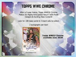 WWE 2020 -  TOPPS CHROME (P4/B24/C8)