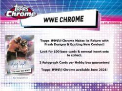 WWE 2021 -  TOPPS CHROME (P4/B24/C8)