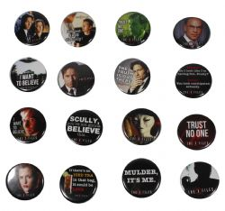 X FILES -  MYSTERY BUTTON (1