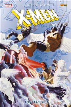 X-MEN -  INTÉGRALE 1963-1964 (ÉDITION 2021)