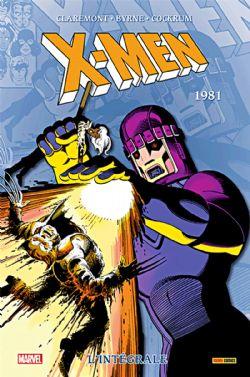 X-MEN -  INTÉGRALE 1981 (ÉDITION 2020)