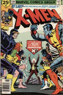 X-MEN -  X-MEN (1976) - FINE (+) - 6.5 100