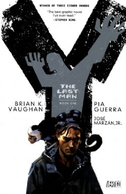 Y THE LAST MAN -  USED BOOKS - BUNDLE TOMES 1 TO 5 (ENGLISH)