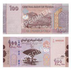 YEMEN -  100 RIALS 2019 (UNC)