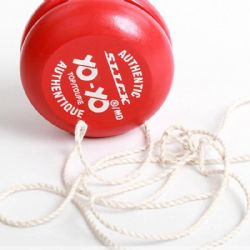 YO-YO -  ORIGINAL WOODEN - VARIOUS COLORS