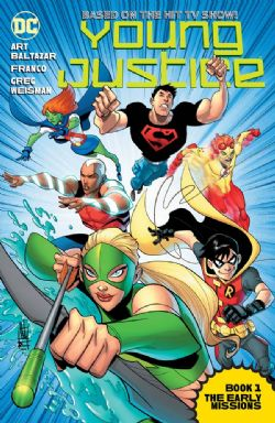 YOUNG JUSTICE THE ANIMATED SERIE -  BOOK ONE TP THE ERLY MISSIONS 01