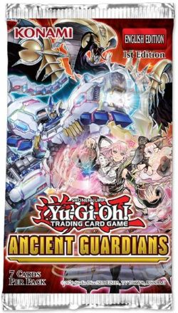 YU-GI-OH! -  ANCIENT GUARDIANS BOOSTER PACK (ENGLISH) -  1ST EDITION