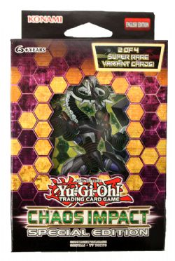 YU-GI-OH! -  CHAOS IMPACT - SPECIAL EDITION BOOSTER PACK (3P9+2)
