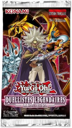 YU-GI-OH! -  DUELLISTES LÉGENDAIRES PAQUET BOOSTER (FRENCH)