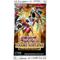 YU-GI-OH! -  FOUDRE AMPLIFIÉE PAQUET BOOSTER (FRENCH) -  1ST EDITION