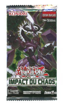 YU-GI-OH! -  IMPACT DU CHAOS - BOOSTER PACK (P9/B24) (FRANÇAIS)