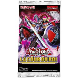 YU-GI-OH! -  LA COUR DU ROI BOOSTER PACK (P7/B24) (FRENCH) -  1ÈRE EDITION
