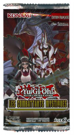 YU-GI-OH! -  LES COMBATTANTS MYSTIQUES - BOOSTER PACK (P5) (FRENCH EDITION)