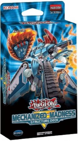YU-GI-OH! -  MECHANIZED MADNESS STRUCTURE DECK (ENGLISH)