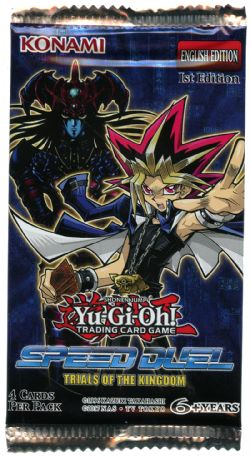 YU-GI-OH! -  TRIALS OF THE KIGDOM - BOOSTER PACK (P4/B36) -  SPEED DUEL