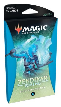 ZENDIKAR RISING -  BLUE THEME BOOSTER (ENGLISH) (35)