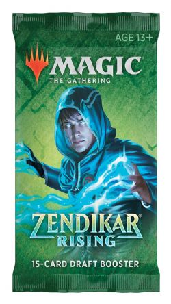 ZENDIKAR RISING -  DRAFT BOOSTER PACK (ENGLISH) (P15/B36)