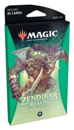 ZENDIKAR RISING -  GREEN THEME BOOSTER (ENGLISH) (35)