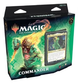 ZENDIKAR RISING -  LAND'S WRATH COMMANDER DECK (ENGLISH)