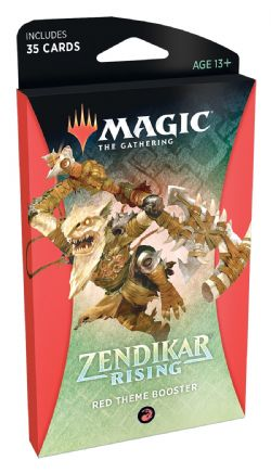 ZENDIKAR RISING -  RED THEME BOOSTER (ENGLISH) (35)