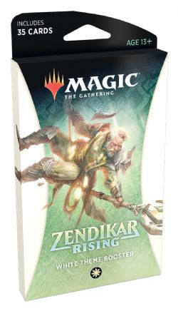 ZENDIKAR RISING -  WHITE THEME BOOSTER (ENGLISH) (35)