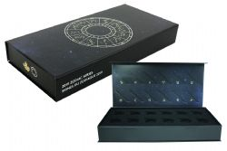 ZODIAC (2019) -  PAPERBOARD COLLECTOR CASE TO DISPLAY THE COMPLETE SERIES -  2019 CANADIAN COINS