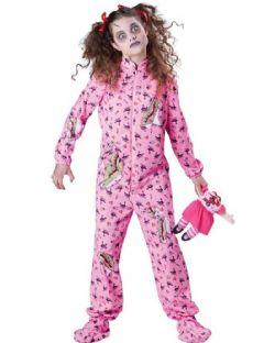 ZOMBIE -  ZOMBIE GIRL COSTUME (CHILD - X-LARGE)