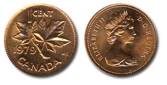 1 CENT -  1 CENT 1979 - BRILLANT INCIRCULE (BU) -  PIÈCES DU CANADA 1979