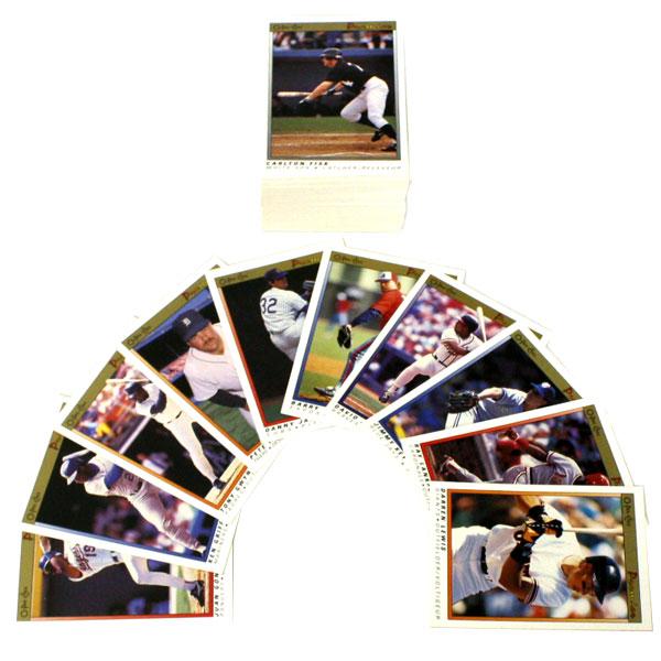 1991 BASEBALL -  SERIE O-PEE-CHEE PREMIER (132 CARTES)