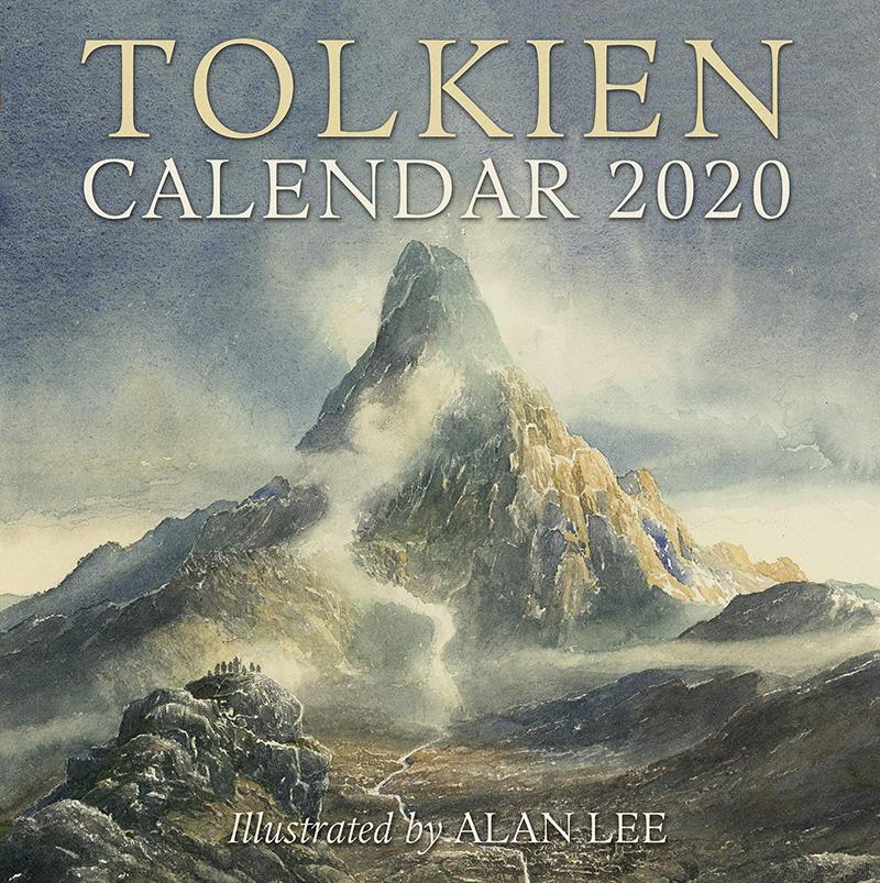 Calendario Serie A 2020 12.2020 Calendar Tolkien 12 Months Wall Calendar