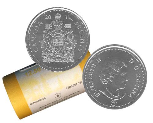 50 CENTS -  ROULEAU ORIGINAL DE 50 CENTS 2011