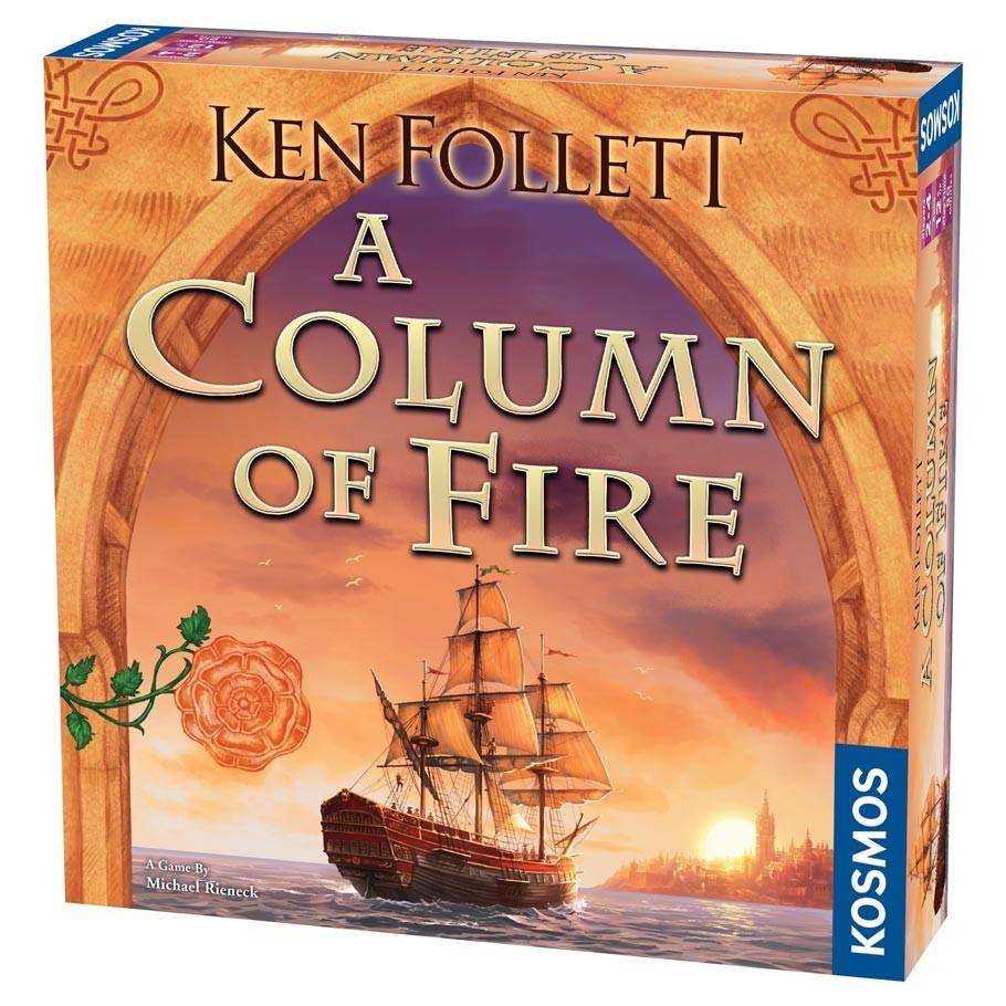 A COLUMN OF FIRE -  A COLUMN OF FIRE (ANGLAIS)