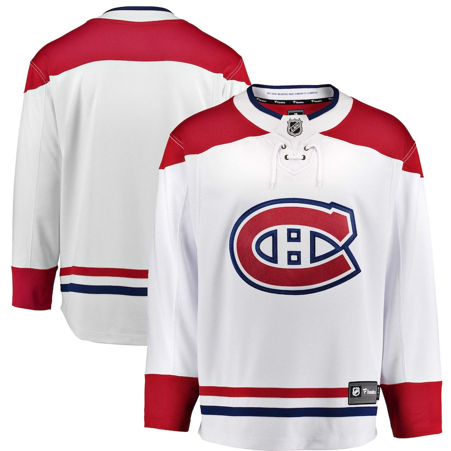Canadiens De Montreal Chandail Replique Blanc Hockey Repliques Adultes