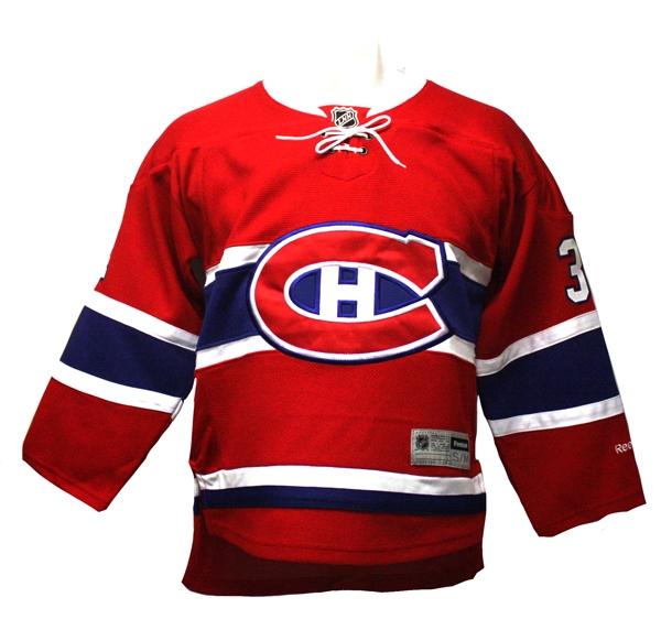 Canadiens De Montreal Replique Chandail Carey Price 31 Rouge Adolescent Hockey Repliques Enfants 8 14 Ans