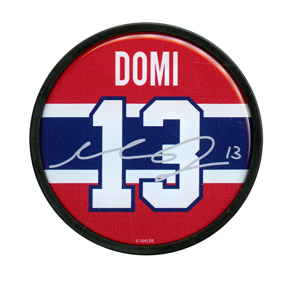 Canadiens De Montreal Rondelle Signature Max Domi 13