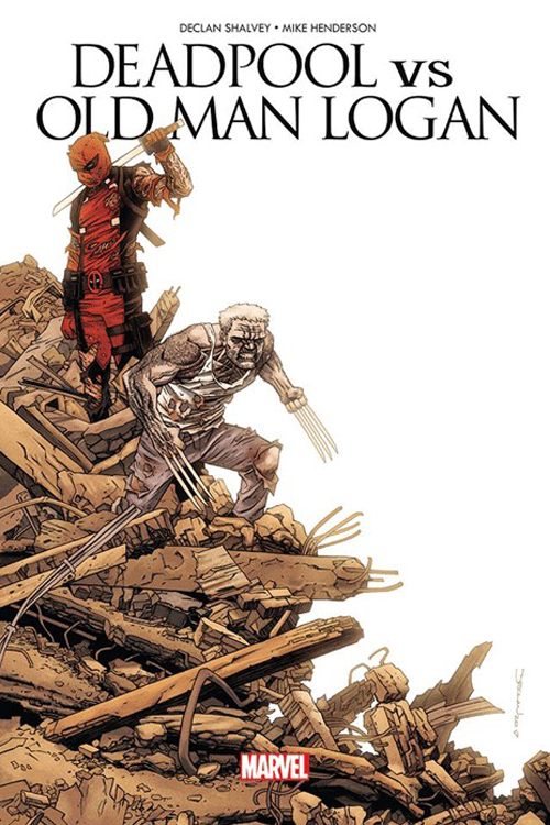DEADPOOL VS OLD MAN LOGAN -  LE CLOWN ET LE VIEUX