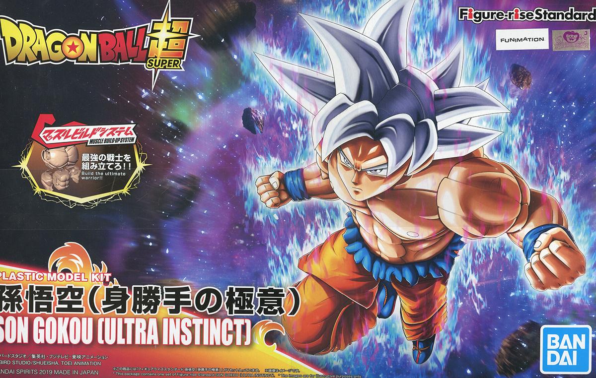 Dragon Ball Standard Modèle à Coller De Goku Ultra Instinct Dragon Ball Super
