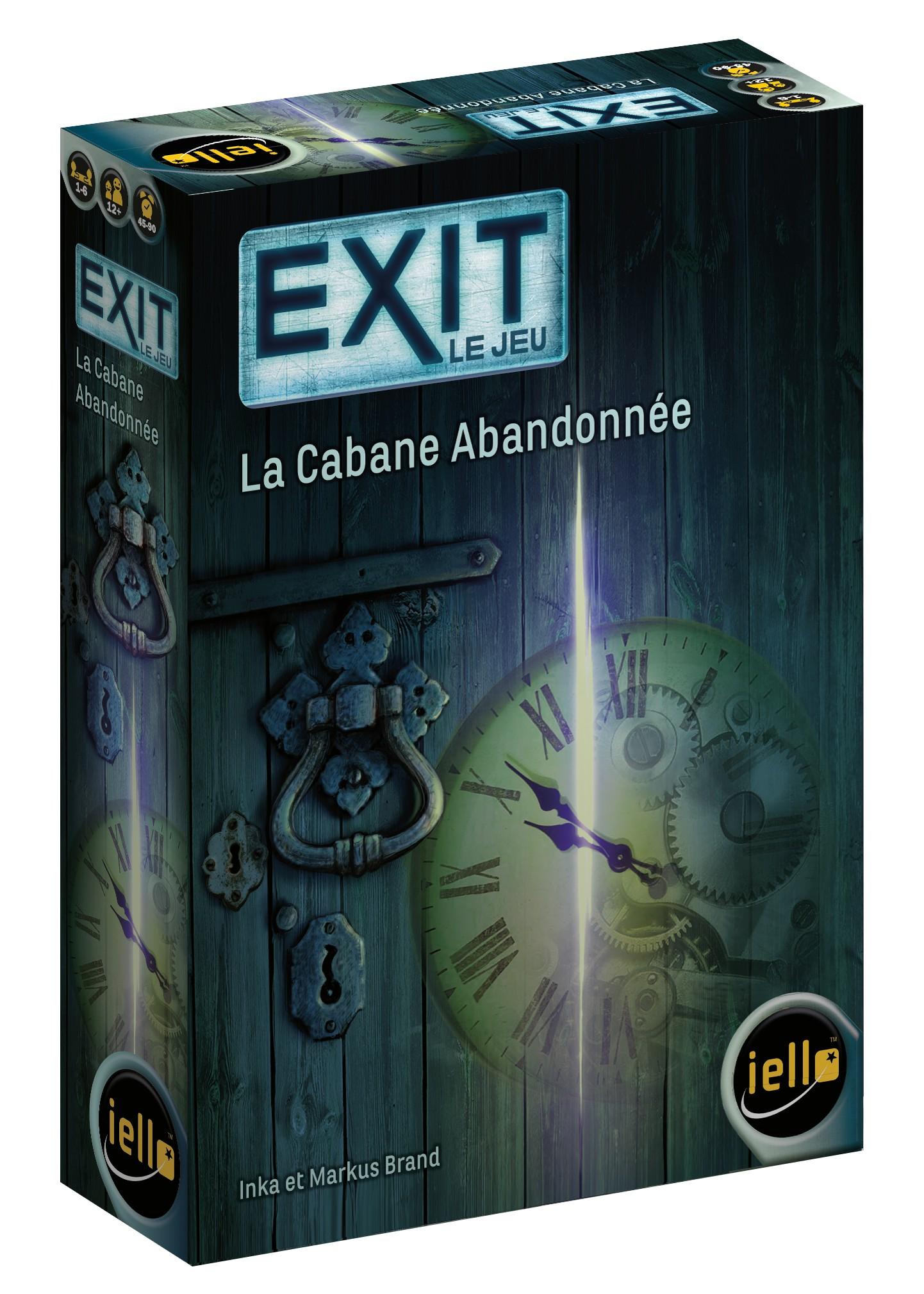 EXIT LE JEU -  LA CABANE ABANDONNÉE (FRANÇAIS)