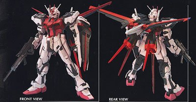 GUNDAM -  -STRIKE ROUGE + SKYGRASPER- 1/60 PERFECT GRADE -  MOBILE SUIT GUNDAM SEED DESTINY