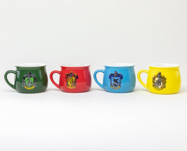 HARRY POTTER -  ENSEMBLE DE 4 MINI TASSES