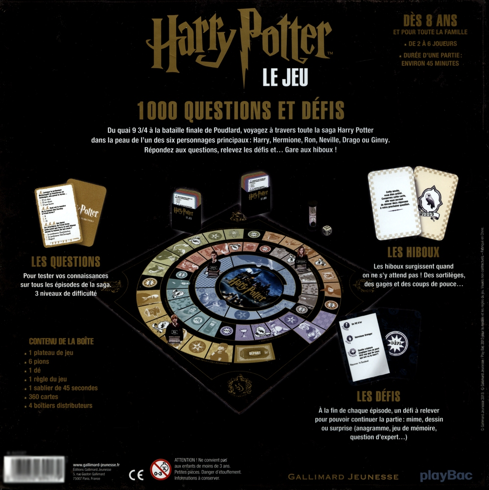 HARRY POTTER -  HARRY POTTER - LE JEU
