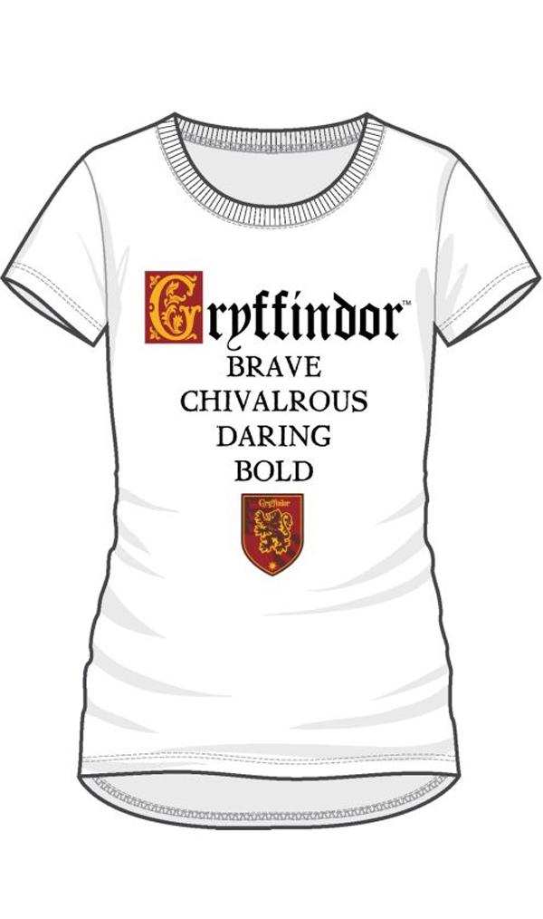 Blancfemme Harry T Shirt Potter Gryffondor Caractère Iymbf6Y7gv