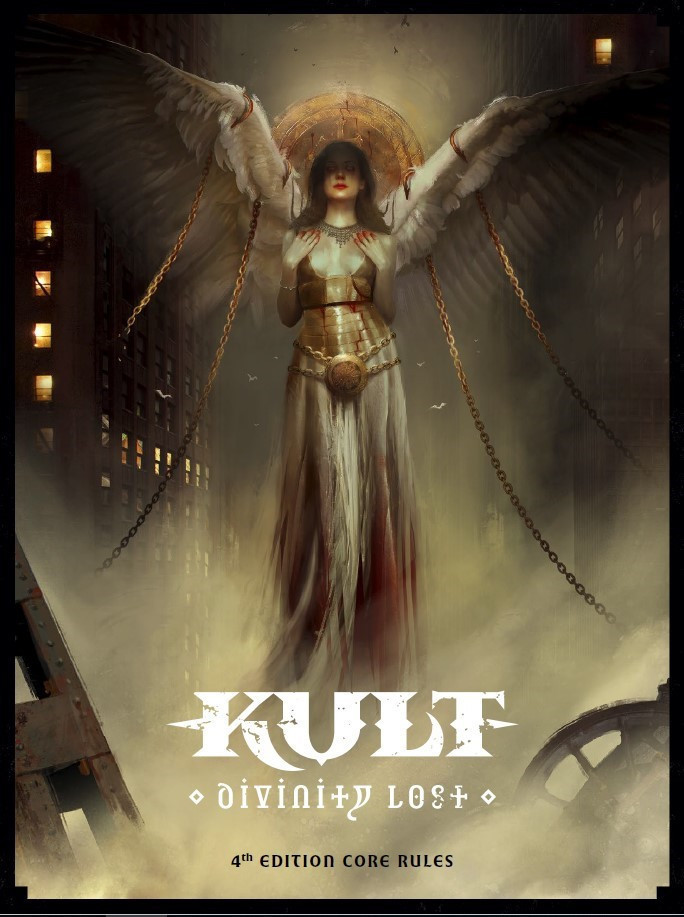 KULT: DIVINITY LOST -  CORE BOOK (ANGLAIS)