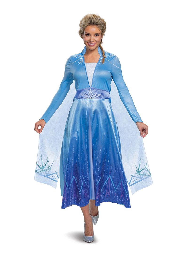 La Reine Des Neiges 2 Costume D Elsa De Luxe Adulte Princesses Disney Femmes Disney