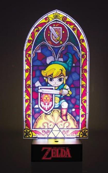 Legend Of Zelda The Lampe Link Vitrail 13 5 X 28 Cm Accessoires