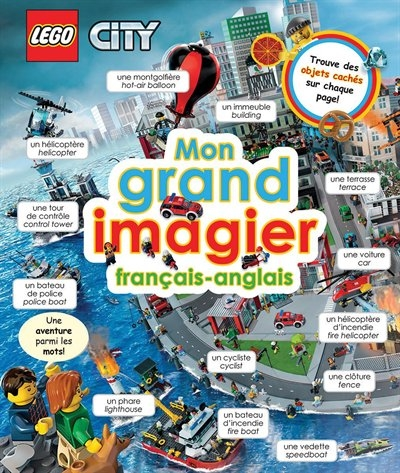 Lego Mon Grand Livre Imagier Lego City