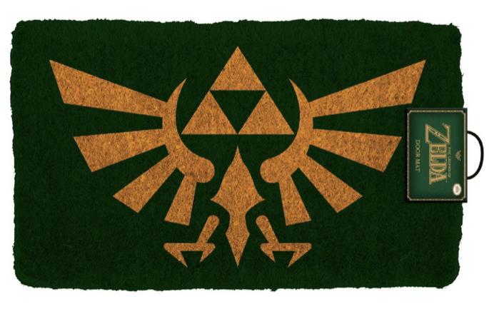 Legend Of Zelda The Tapis De Porte Triforce 76cm X 46cm